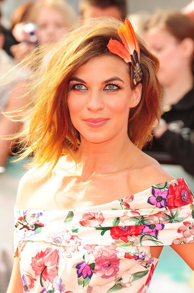 Natalia Tena Natalia Tena at the UK premiere  of  'Harry Potter And The Deathly Hallows: Part 2' at Trafalgar Square in London.