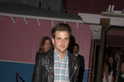 Jared Followill attending celebrity blogger Just Jared's 30th birthday party held at Pink Taco in Los Angeles.