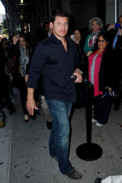 Nick Lachey - Nick Lachey in NYC