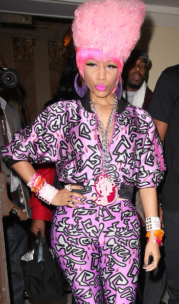 Nicki Minaj leaves London#39;s
