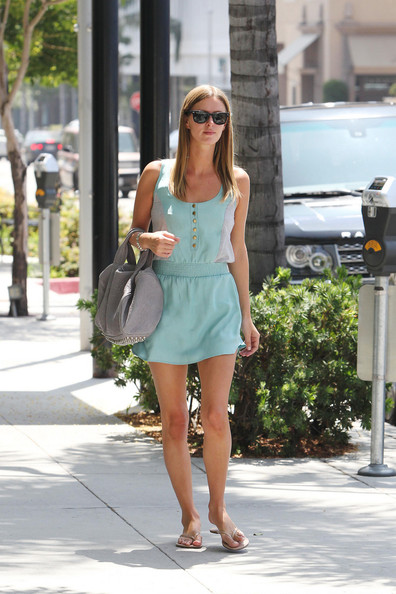 """Nicky Hilton Nicky Hilton, recently single after splitting from her longtime boyfriend David Katzenberg, seen walking in Beverly Hills. Nicky says of the breakup: """"We started dating when we were very young. Travel and work schedules left us little time to spend together."""