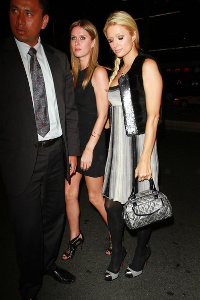 Paris and Nicky Hilton at Trousdale []
