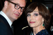Kristin Scott Thomas and Nicolas Winding Refn attend the 'Only God Forgives' Premiere during the 66th Annual Cannes Film Festival at Palais des Festivals in Cannes.
