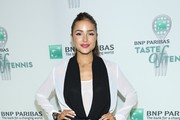 Olivia Culpo attends the 14th Annual BNP Paribas Taste Of Tennis at W New York Hotel in New York City.