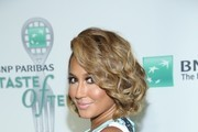 Adrienne Bailon attends the 14th Annual BNP Paribas Taste Of Tennis at W New York Hotel in New York City.