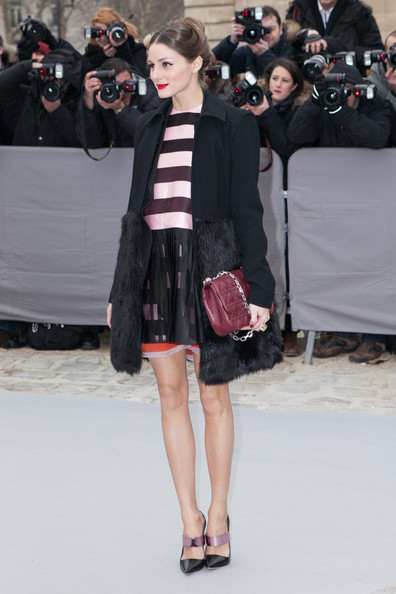 Olivia Palermo - Arrivals at the Christian Dior Fall-Winter 2013 Ready-to-Wear Show in Paris