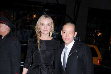 Diane Kruger Jason Wu '2011 Green Auction: A Bid To Save The Earth' at Christie's Auction House