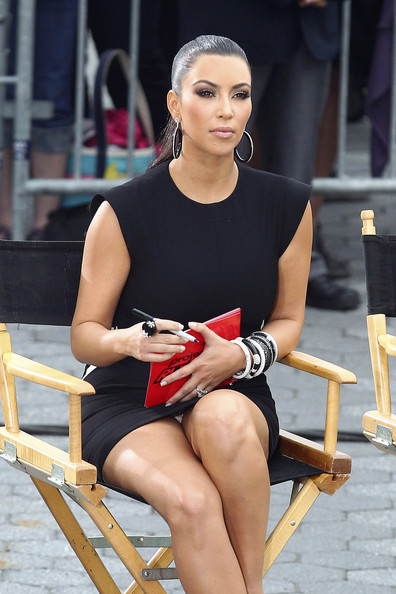 Kim Kardashian In Kim Kardashian On The Set Of Project