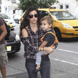 Kourtney Kardashian and Mason in NYC 2