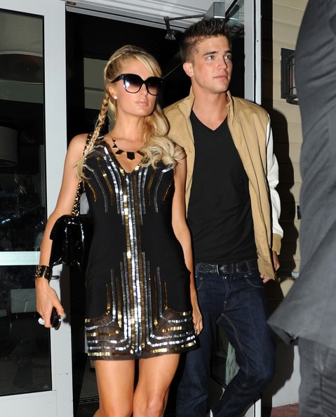 Paris Hilton and River Viiperi Leave Dinner
