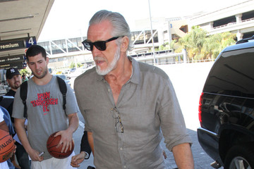 Pat Riley Pat Riley Spotted at LAX