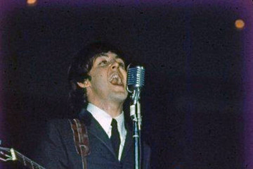 Paul McCartney Old Color Photos Of The Beatles