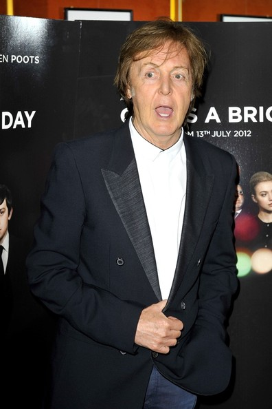 "Paul McCartney - Celebs at the ""Comes A Bright Day"" Premiere in London"