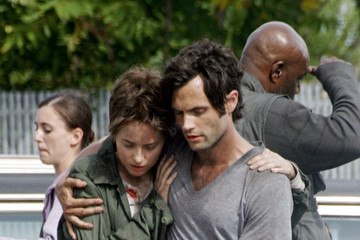 Penn Badgley 'Cymbeline' Films in Brooklyn