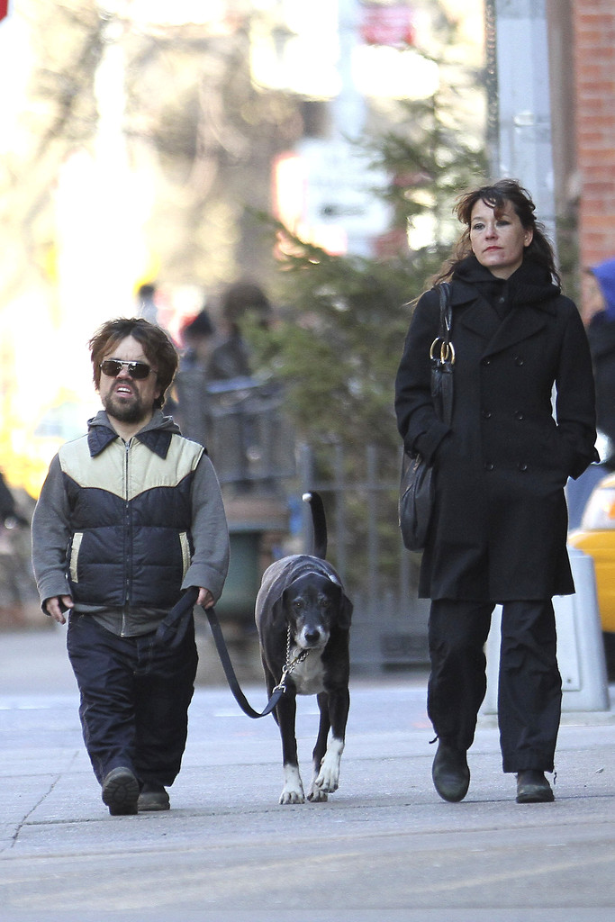 Peter Dinklage Photos Photos - Peter Dinklage and Erica ...