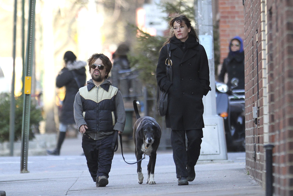 Peter Dinklage and Erica Schmidt Photos Photos - Peter ...