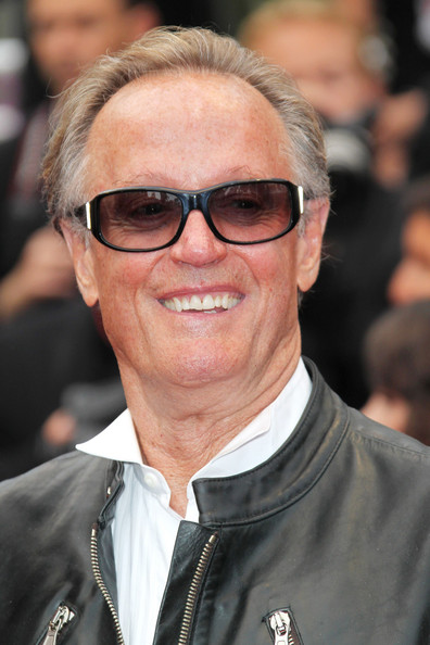 Peter Fonda Peter Fonda on the red carpet for the  quot The Conquest    Peter Fonda Movies