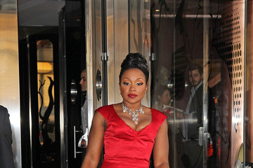 Phaedra Parks Celebs at the Bravo Upfront 2012 in NYC