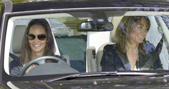 Pippa Middleton And Carole Middleton Photos Photos
