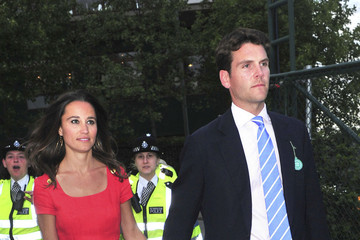 Alex Loudon Pippa Middleton and Alex Louden Leaving Wimbledon