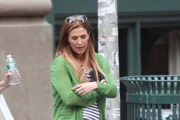 Poppy Montgomery Poppy Montgomery Runs Errands in NYC
