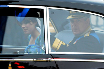 Prince Andrew Prince William Royal Wedding Arrivals