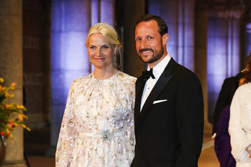 Prince Haakon Guests Arrive for a Dinner With the Royal Family