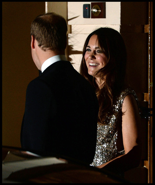 Prince William - Prince William and Kate Middleton at the Royal Society