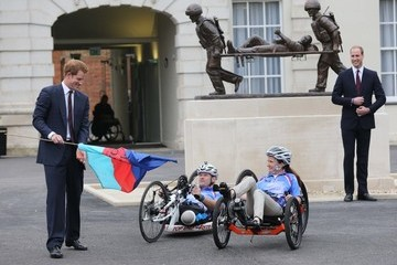 Prince William British Royals Help Out at the Annual Hero Ride