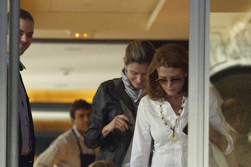 Princess Letizia Ortiz Letizia Ortiz Out for Lunch in Madrid