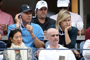 Will Ferrell Viveca Paulin Queen Latifah and other celebrities gather to watch the Women's final of the US Open at the Billie Jean King Tennis Center in Queens, New York