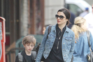 Rachel Weisz Rachel Weisz Spends the Day with Her Son