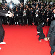 """Ramzy Bedia Ramzy Bedia and guests create a scene at the premiere of """"Vous N'avez Encore Rien Vu'"""" at the Cannes Film Festival"""