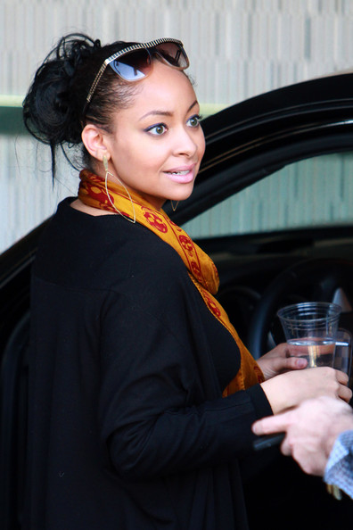 Raven Symone is seen at the gift lounge for a charity helping Children's Miracle Network Hospitals.