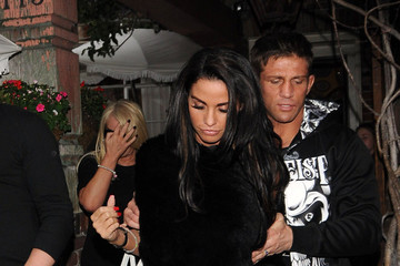 Katie Price Alex Reid Katie Price and Alex Reid at The Ivy