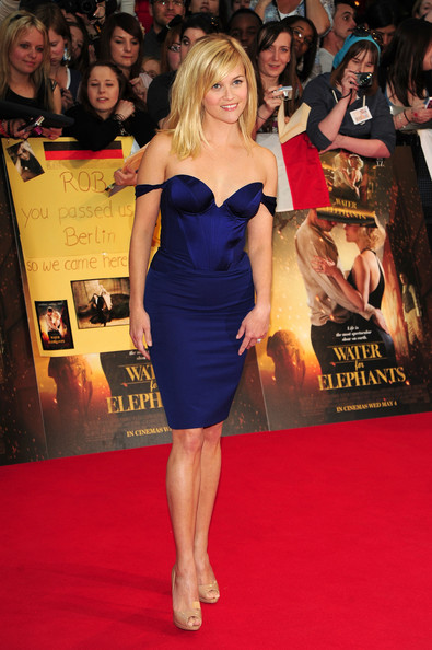 "Reese Witherspoon attends the UK film premiere of ""Water For Elephants"", held at the Vue Westfield in London."