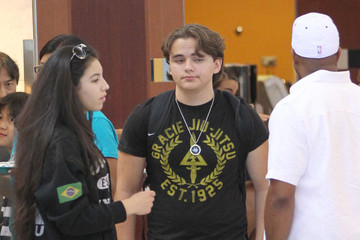 Remi Alfalah Prince Jackson Drops Off His Girlfriend at the Airport