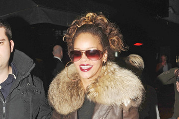 Rihanna Rihanna Leaving Stringfellows Club in London