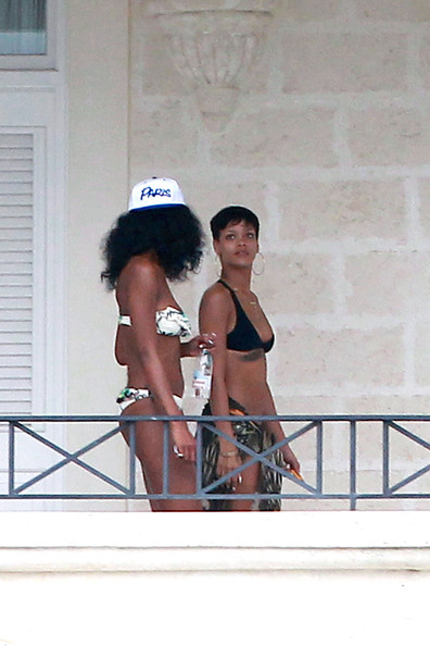 Rihanna - Rihanna in Barbados