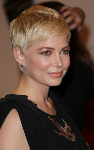 "Michelle Williams at the annual Costume Institute Gala, celebrating the exhibition at the Met of 'Alexander McQueen: Savage Beauty"", held at the Metropolitan Museum Of Art on 5th Avenue in Manhattan."