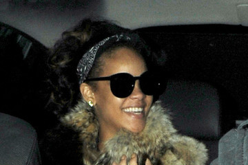 Rihanna Rihanna Leaves Mahiki Nightclub Late