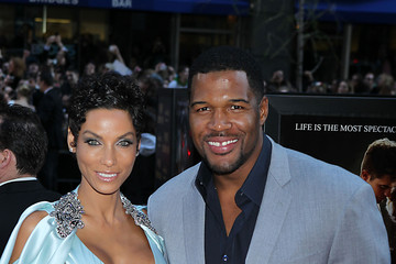 "Michael Strahan Nicole Murphy The ""Water For Elephants"" New York Premiere 2"