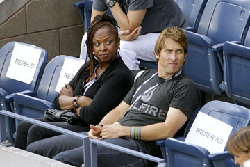 Robin Quivers Celebs at the US Open