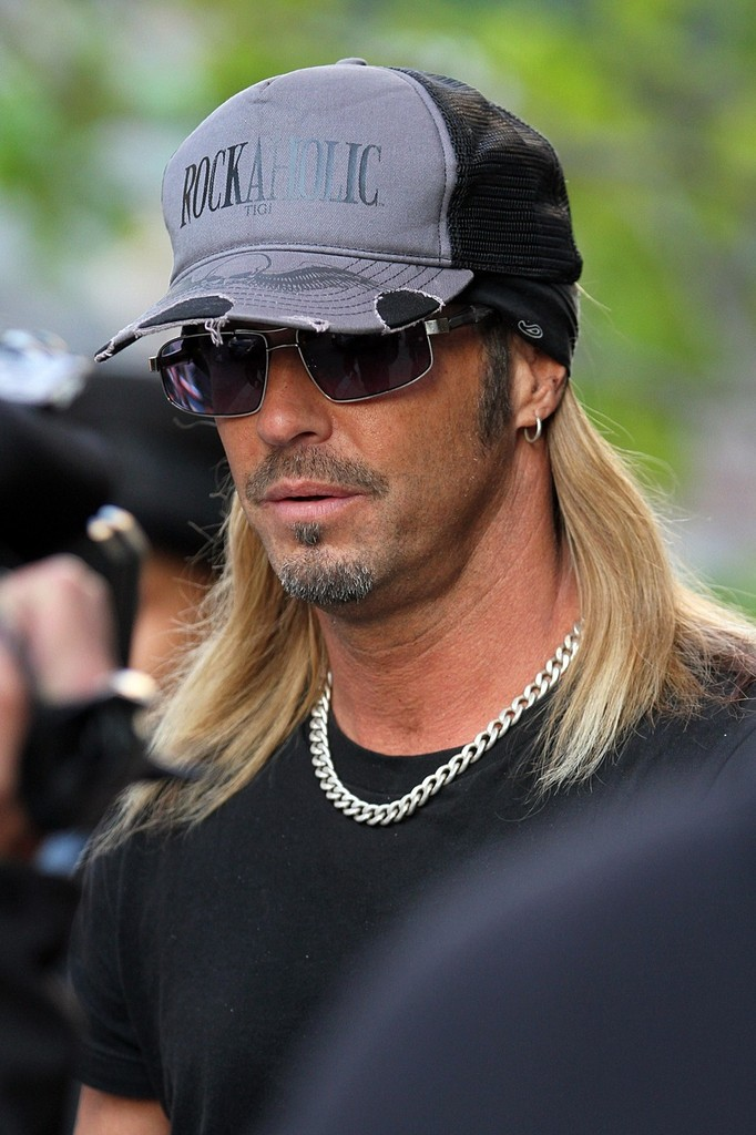 bret michaels out and about in nyc zimbio. Black Bedroom Furniture Sets. Home Design Ideas