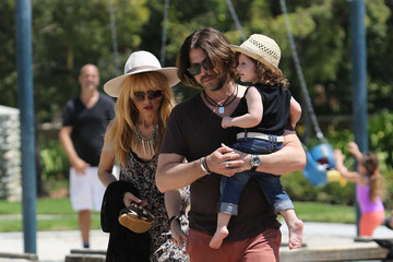 Rodger Berman Rachel Zoe Takes Her Family to the Park