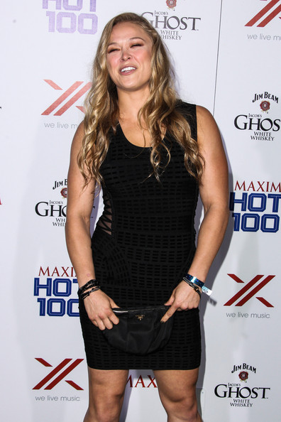 Hot ronda rousey maxim your place
