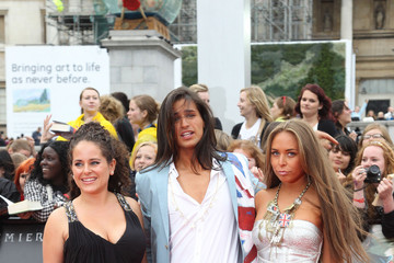 """Chloe Green Ollie Locke The """"Harry Potter & The Deathly Hallows Part 2"""" World Premiere in Trafalgar Square"""