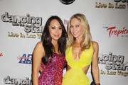 "Cheryl Burke, Kym Johnson at the ""Dancing With The Stars: Live in Las Vegas"" opening night at the Tropicana Theater in the New Tropicana Las Vegas in Las Vegas."