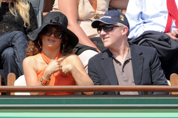 salma hayek husband francois henri pinault. Salma Hayek and husband