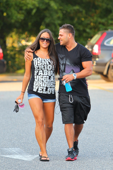 Image: Ronnie Magro And Sammi Giancola